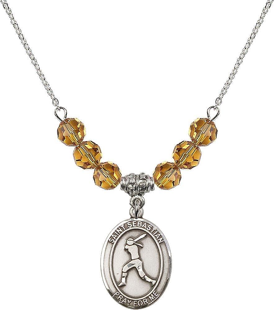 Phoenix Mall Bonyak Ranking TOP13 Jewelry 18 Inch Rhodium Plated 6mm Yellow Nov w Necklace