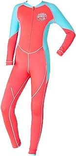 CapsA Neoprene Swimsuit Girls Boys Kids Wetsuit Snorkeling Jumpsuit Short Sleeve Diving Suit