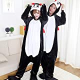 JJAIR Adult Onesie Animal Costume, Demon Animal One Piece Pajamascosplay Halloween Costume for Men Women,XXL