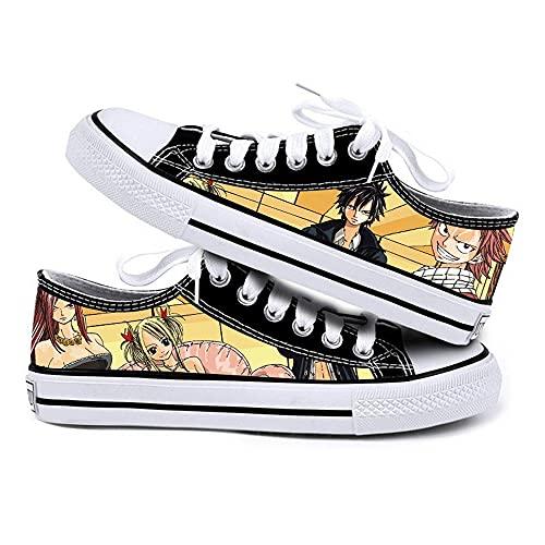 NIEWEI-YI Moda Mujer Zapatillas De Deporte Zapatillas Fairy Tail Zapatos De Lona Zapatos Deportivos Al Aire Libre,42 EU