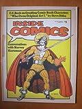 Inside Comics #2, Summer 1974. Disney, Ditko, Kurtzman, C.C. Beck,