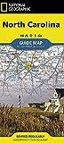 North Carolina (National Geographic Guide Map)