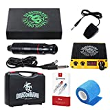Dragonhawk Cartridge Tattoo Machine Kit Pen Rotary Tattoo Machine Cartridge Needles Power Supply for Tattoo Artists DML-5