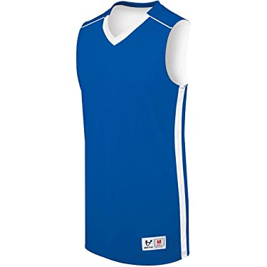 Augusta Sportswear Mens Competition Reversible Jersey L Royal/White
