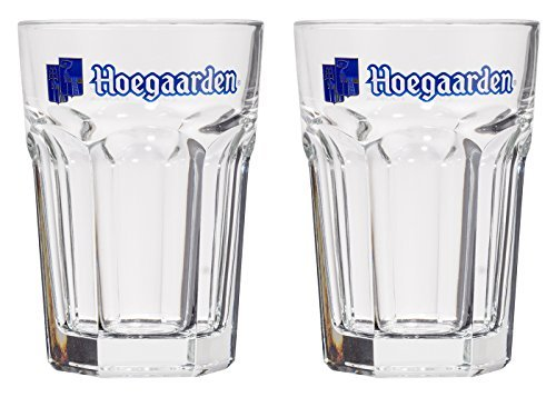 Hoegaarden Pint Beer Glasses CE 20OZ/568ml (Set of 2)