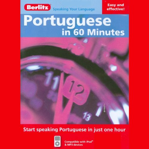Portuguese in 60 Minutes audiobook cover art