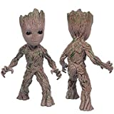 SHOUban Modèle Anime Action-Figuren, Baby Groot Nettes Modell Spielzeug Guardians of The Galaxy Kinder (Einhand)