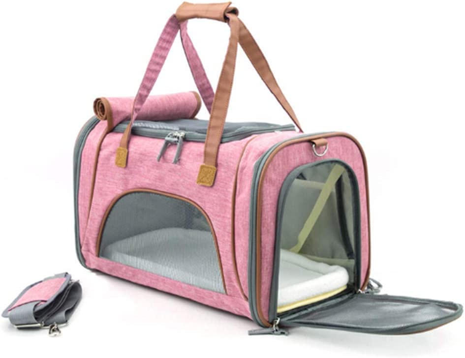 ZLBPET Pet safety Carrier Crate Collapsible Breathable Safe famous Lightweight
