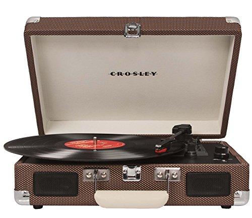 Crosley Cruiser Turntable draagbare platenspeler met ingebouwde stereo-luidsprekers in