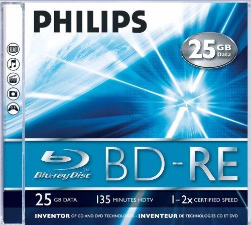 Philips be2s2j05C/00Festplatte Schurwolle Blu-ray–Scheiben Jungfrauen Ray (Box)