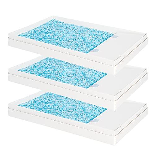 PetSafe – Litière pour bac à litière autonettoyant ScoopFree, plateau de litière en cristal bleu, Recharge Litière PetSafe Absorbante et sans odeur, hygiénique