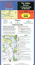 delta fishing map