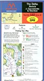 Maptech Waterproof Chart The Delta-Benicia to Sacramento 2nd Edition. Model: WPC122