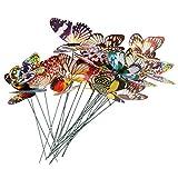 BESPORTBLE 24 Piezas de Estacas Luminosas de Mariposas...
