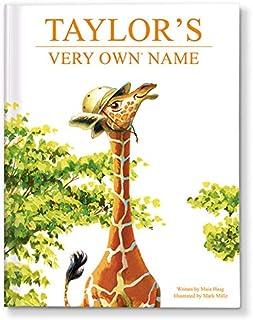 Baby Shower Gift, Unisex Baby Gift Boy Girl, My Very Own Name Giraffe