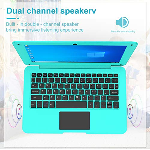 Product Image 1: HBESTORE 10.1Inch Portable Laptop Mini Computer Ultra Thin Notebook with Intel Atom Z8350 ,2GB RAM and 32GB Storage with Windows10 OS. (Blue-2GB)