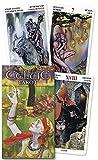 Celtic Tarot (English and Spanish Edition)