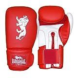 Lonsdale Cruiser Guantes de Boxeo, Todo el año, Unisex, Color Rojo/Blanco, tamaño 414 ml