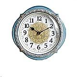 Reloj de Cuarzo de Pared Reloj de pared europeo minimalista, Swall reloj for no tictac, la personalidad de la manera creativa, reloj de pared de cuarzo reloj conveniente for el dormitorio, sala de est