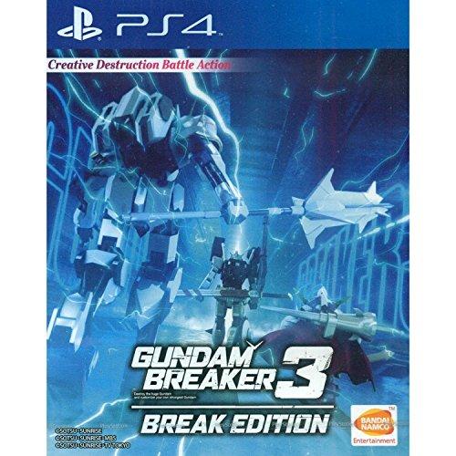 Gundam Breaker 3 Break Edition (English Subtitles) for Playstation 4 [PS4]