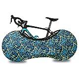 Funda Bicicleta en Interior Azul Funda para Rueda de Bicicleta Antipolvo Funda Protectora para Bicicleta Funda Elástica Universal de Bicicletas Lavable Polvo rasguño para Bicicletas de montaña