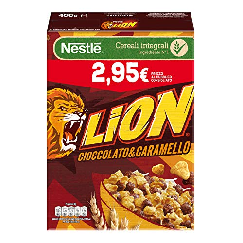 Nestlé Lion Cereali al Cioccolato e Caramello 400 g