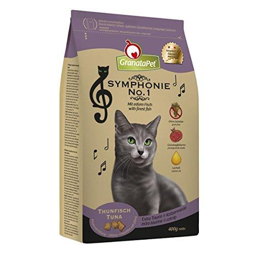 Symphonie Trockenfutter Katze Thunfisch Adult, 6er Pack (6 x 400 g)