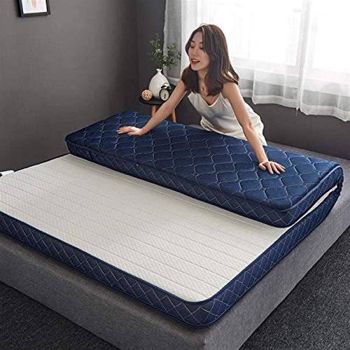 dmsc Thicken 10cm Latex Memory Foam Mattress, Foldable Super Soft Family Student Dormitory Tatami Sleeping Mat, Comfortable And Breathable Three-dimensional Mattress In Multiple Sizes To Choose From