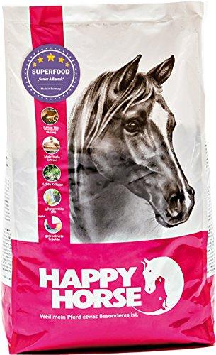 Happy Horse Superfood Senior & Barock 2 x 14 kg - Das ideale Pferdefutter für Senioren. Hohe Vitalstoffdichte - geringe Fütterungsmenge.