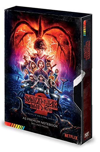 Taccuino A5 Premium - Stranger Things (S2 VHS)