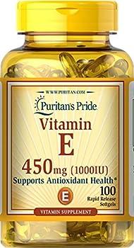 Puritan s Pride Vitamin E 450 Mg Supports Immune Function