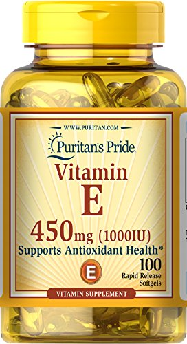 Puritan's Pride Vitamin E 450 Mg Supports Immune Function