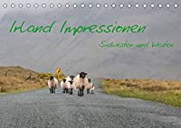Irland Impressionen Suedwesten und Westen (Tischkalender 2022 DIN A5 quer): Ein optischer Streifzug durch den Suedwesten Irlands (Monatskalender, 14 Seiten )