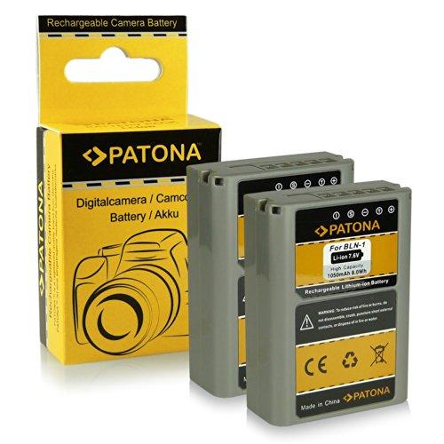 2x Batería PS-BLN1   BLN-1 para Olympus OM-D E-M1   OM-D E-M5   Pen E-P5   Stylus XZ-2