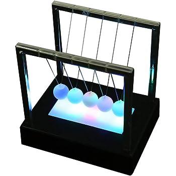 Ejoyous Pendule de Newton Berceau Balance de Newton D/émontrez Les Lois de Newton avec des Balles Pivotantes pour Bureau Fun Toy Gift