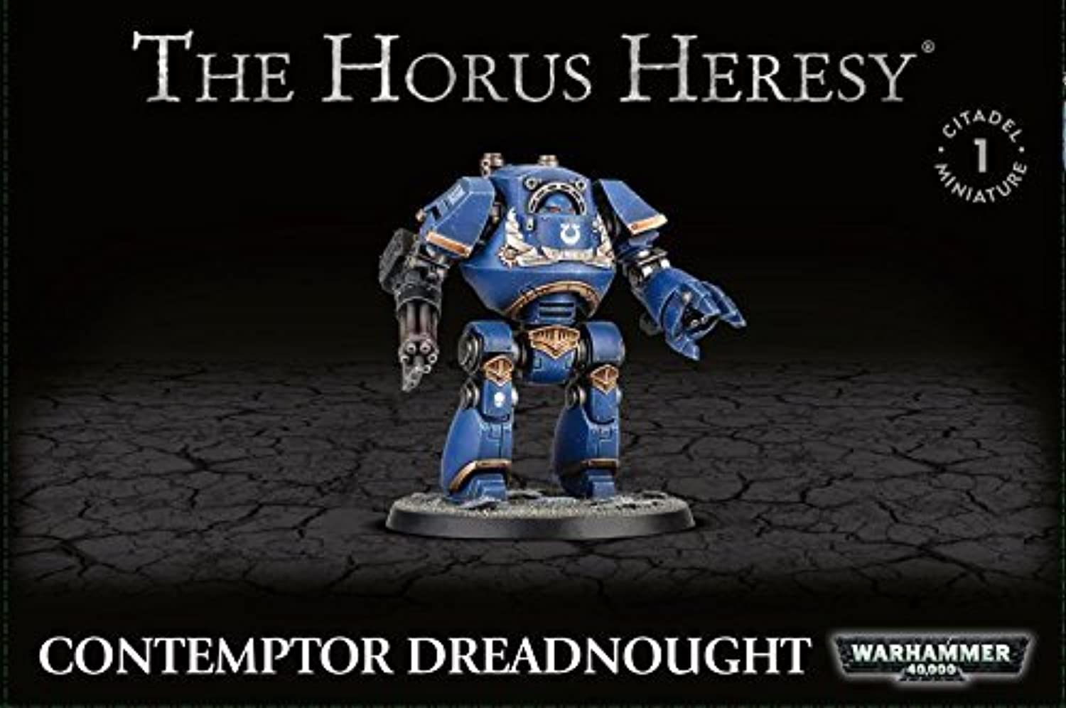 Games Workshop 99120101142 Horus Heresy Contemptor Dreadnought Tabletop and Miniature Gaming