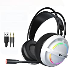 Fone de ouvido YOOXI Xbox One — Fone de ouvido para jogos Ps4 com fone de ouvido Surround Sound Pro de cancelamento de ruí...