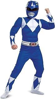 Power Rangers Blue Ranger Classic Muscle Child Costume