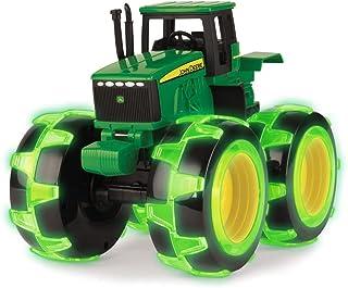TOMY John Deere Monster Treads Lightning Wheels Tractor, Green