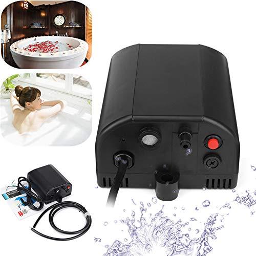 WWK Generador de ozono DIY 300 MG/H, purificador de Aire Piscina, Ozonador acuática 2Spa Bañera AMP Enchufe 100-240V 9W Adecuado para la mayoría SPA/bañeras de hidromasaje en el Mercado