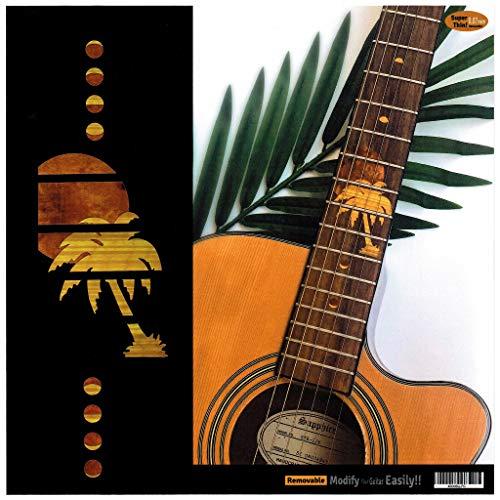 Inlaystickers - Marcadores para trastes para guitarras - Hawaiian Sunset F-318HS