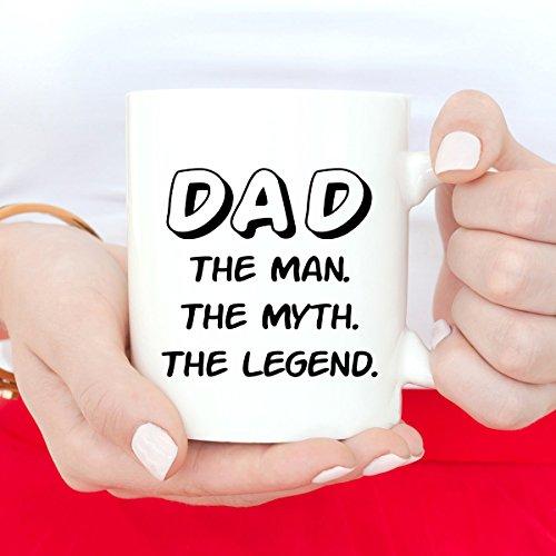 Divertida taza del día del padre taza de café divertida taza de papá taza de café para papá, cumpleaños, mejor regalo para papá, regalo de Navidad