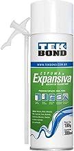 Espuma Expansiva de PU Tekbond uso geral 180g/300ml