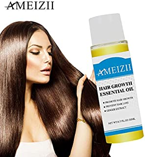 Shreeyas Ameizii Hair Liquid Defence If Ginger Shampoo Yu Shampoo Hair Essence Element Increase Liquid Foreign Trade Cross Border OEM : 20mLAMIZI