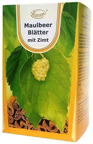 Maulbeerblätter Tee mit Zimt, 60 x 2g, 120g - abnehmen schnelle diät, bremst Zuckeraufnahme auch aus Kohlenhydraten, für niedrigen Blutzucker, gegen Heißhunger, cholesterinsenker, maulbeeren