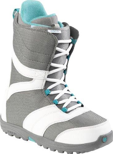 Burton Boots Coco White/Gray/Teal - Botas de Snowboarding,