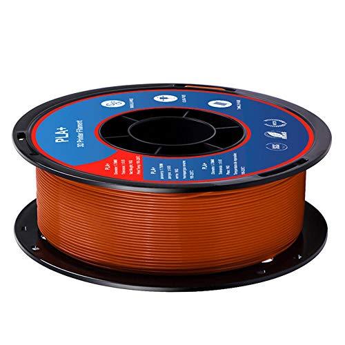 PLA + FILAMT 1,75mm, 3D-Druckerfilament 1kg (2.2lb), Maßgenauigkeit +/- 0,02 mm-Braun