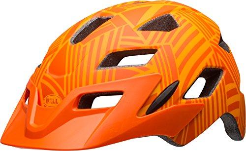 BELL Kinder Sidetrack Fahrradhelm, Matte Tang/Orange, One Size