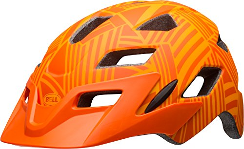 BELL Kinder Sidetrack Fahrradhelm, Matte Tang/Orange, One Size