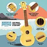 Immagine 1 mahalo kahiko crema raso ukulele
